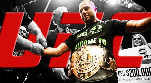 Light Heavyweight Kickboxing Champion of GLORY Gokhan Saki