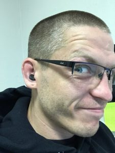 Magnet application to drained cauliflower ear