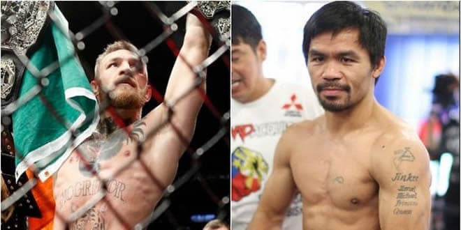 Manny Pacquiao and Conor Mcgregor