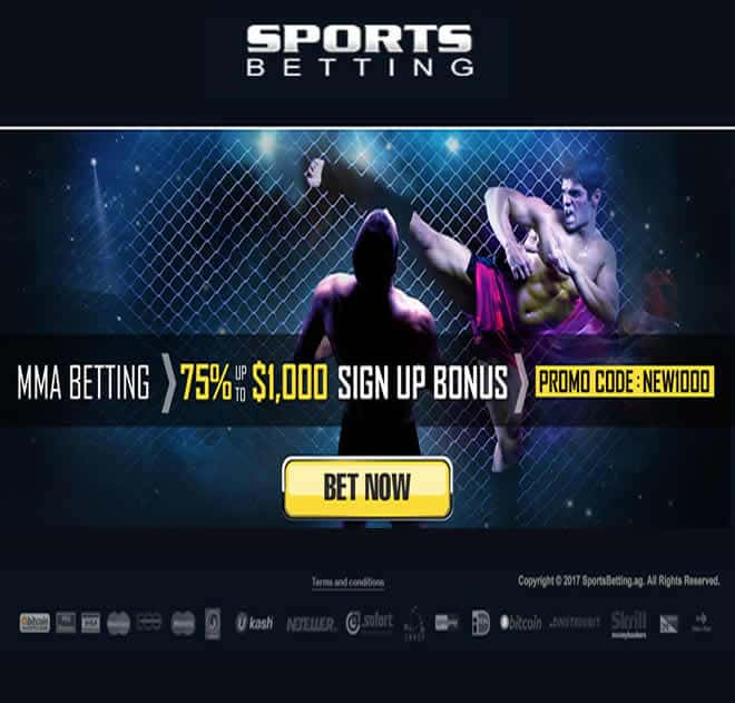 Sportsbetting.ag MMA Screen Shot