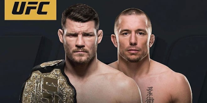 GSP VS Michael Bisping
