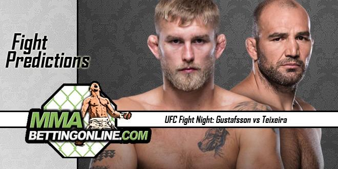 UFC Fight Nigh 109 Gustasson vs Teixeira