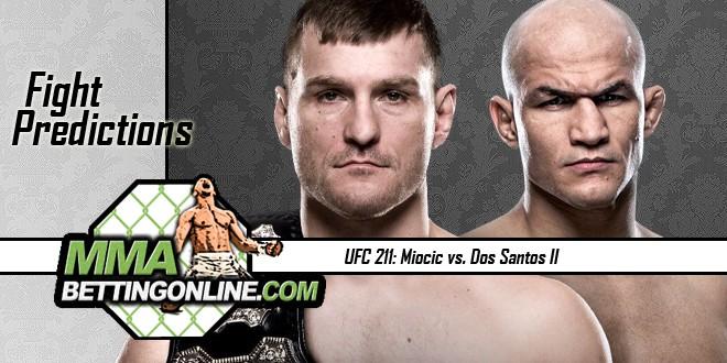 UFC 211 Miocic VS Dos Santos