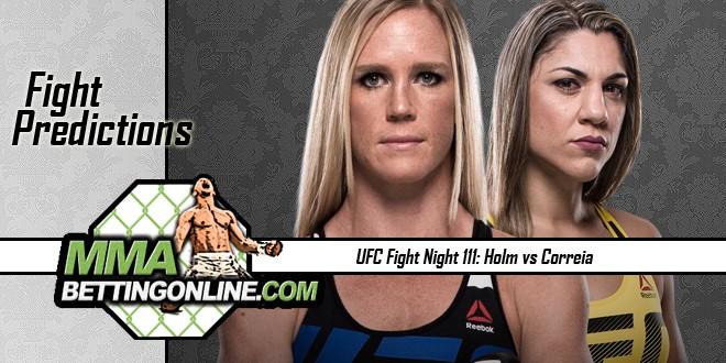 Holm vs Correia UFC Fight Night 111