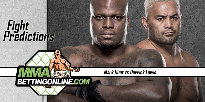 derrick Lewis vs Mark Hunt