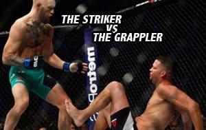 Striker vs the Grappler