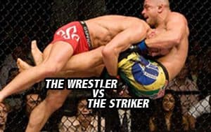 Wrestler vs the Striker