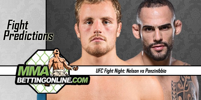 UFC Fight Night 113 Gunnar Nelson vs Santiago Ponzinibbio