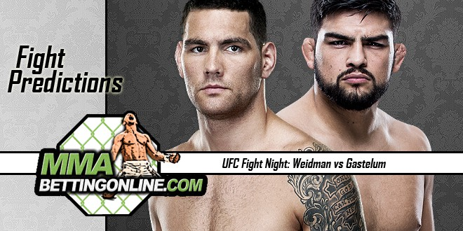 Weidman vs Gasterum July 22, 2017