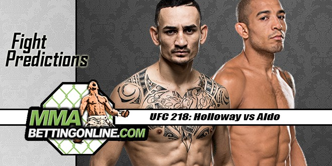 UFC 218: Holloway vs Aldo
