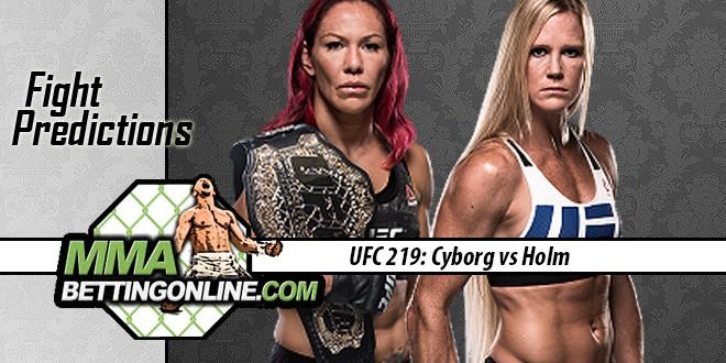 UFC 219 Holms vs Cyborg